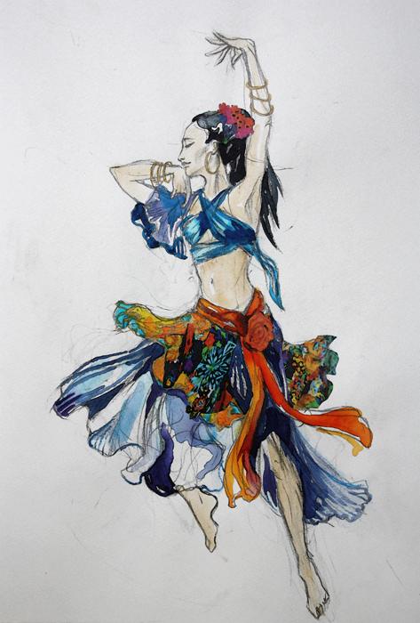 Gypsy Scetch