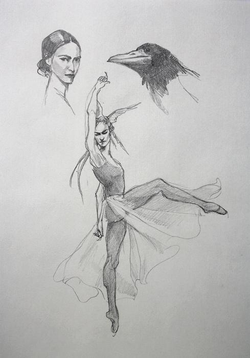 Sketch for magic flute